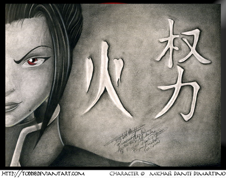 Azula: The Prodigy of Fire by todd18