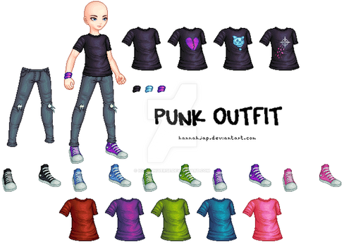 Male Punk Outfit by Icon-Universe