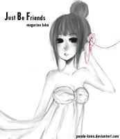 Just Be Friends by panda-kann
