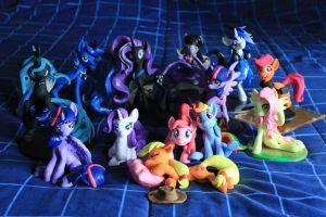 Gathering of the Adorables by dustysculptures