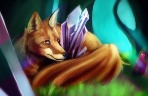 Amethyst Forest by Followthepaws
