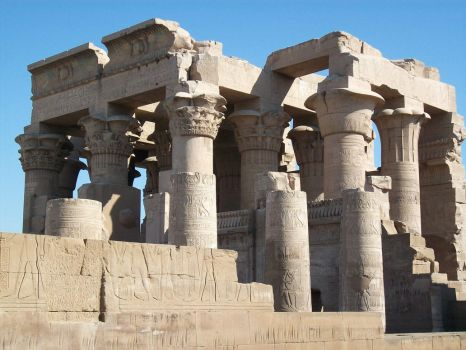 The Temple of Kom Ombo by SirLordAshram