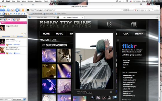 Screenshot from Shiny Toy Guns by ElegantMiyavizm