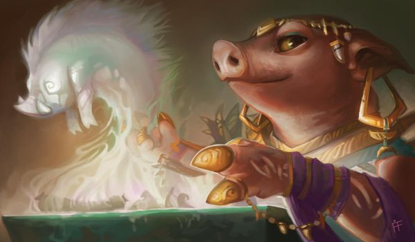 Pig Through Time by ALRadeck