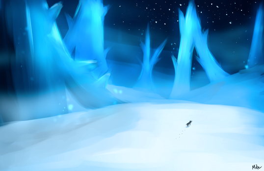 Ice Field by senpoRIOT