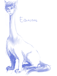 30 Day Monster Challenge - Day 21 - Equalidog by sp00ntane0us