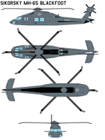 Sikorsky MH-65 BLACK FOOT by bagera3005