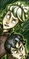 Sirrus and Shoomlah in - GREEN by Artoveli
