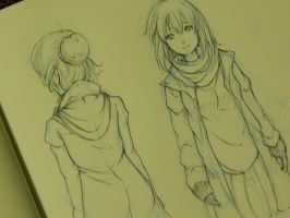 Clothes Study - Winter !!! by Yuuki-Tachi