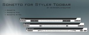 Sonetto Styler Toolbar by burnsplayguitar
