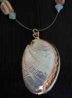 Abalone Pendant by ChocolateStarfire