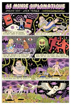 The Internet - Comic by Teagle