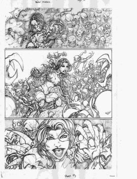 witchblade vs darkness pg 5 by vicmed