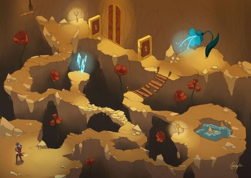 Inside the cave [WSS] [cours] by Chlodzilla