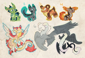 Adoptables/Designs by theperfecta