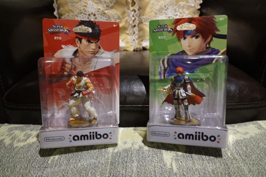 Our amiiBOYS who can 'Ryu' like a Book! by All-StarWarriors