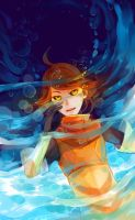 submerged by robotfish
