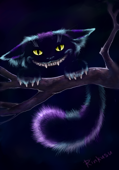 Cheshire Cat by BlackLynxLair
