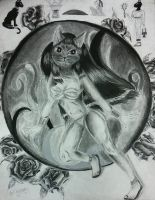 Bastet hope that cat people lair likes it by theblackalma13