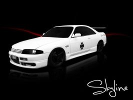Nissan Skyline by Pawnile