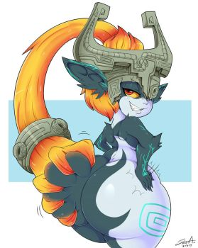 ~Commission: Midna~ by MehDrawings