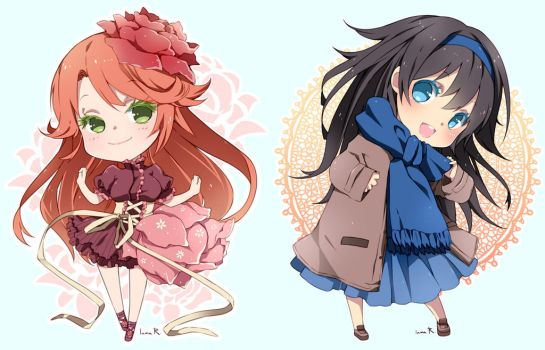Chibi commission batch02 by inma