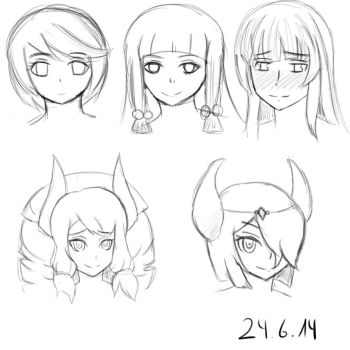 Some sketches by Numakappa