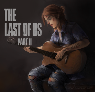 Ellie The last of us Part II by Balisson