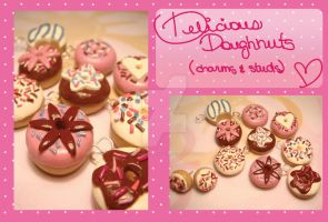 Donitas - Donuts by colourful-blossom
