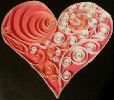 Heart of hearts quilling by kryslalee