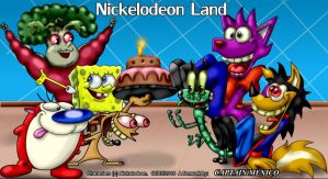 Nickelodeon Land criket 2 by CaptainMexico