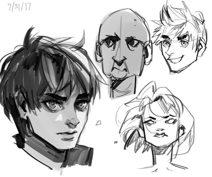 Face Practice/Warm Up by Bev-Nap