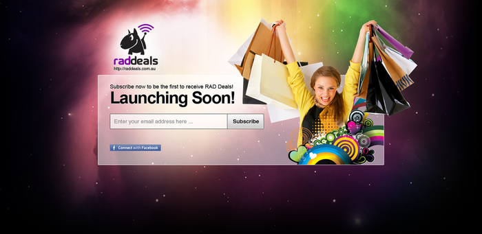 Launching Soon Landing Page by View9