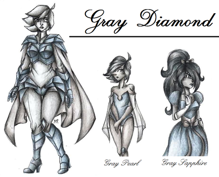 :Gemsona: Gray Diamond by MikuPapercraft