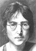 john lennon by gollz365
