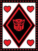Red and Black Autobot Valentine by srg1
