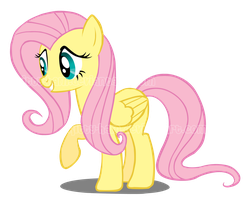 Fluttershy Vector by Kitty-Ham
