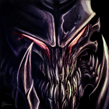 hydralisk head by s0s2
