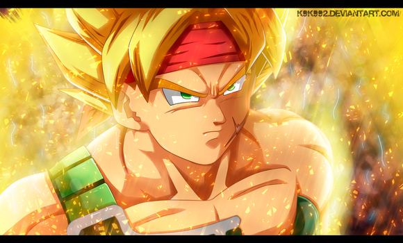 Bardock  - dragon ball by k9k992