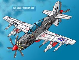 SF-260 in color by TheXHS