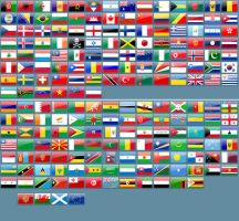 Web 2.0 World Flags by TheSa1nT