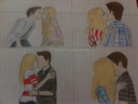 Seddie Kisses by luvjennette