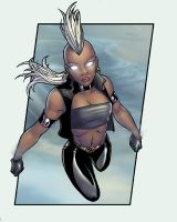 80's storm colored by vest by JamieFayX