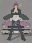 Cadillac Guy - Telephone game! by YukiBayo