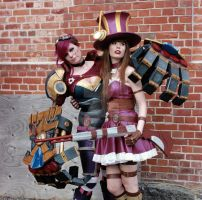 Piltover's finest. (League of Legends) by TineMarieRiis
