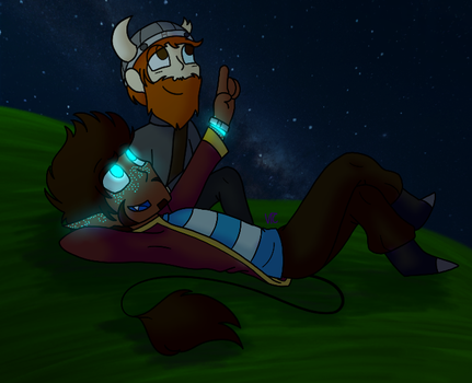 Star Gazing by Violet-The-Cat