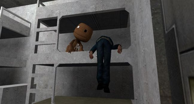 Me and Sackboy by Cjiwer