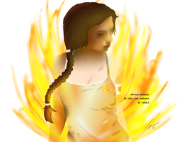 Katniss the girl on fire by Nanaxxis-inxxthe-Uk