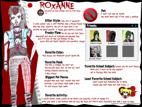Monster High: Roxanne's Official Bio by A-Scary-Little-Girl