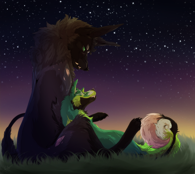 Star Gazing by Cactus-Canine